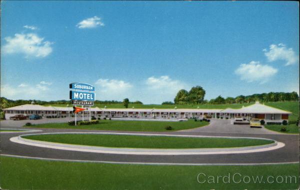 Suburban Motel Greeneville Tennessee