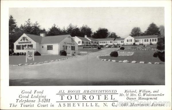 Tourotel Asheville North Carolina