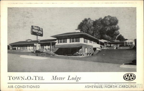 Town-O-Tel Motor Lodge Asheville North Carolina