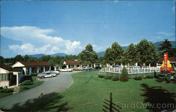 Buena Vista Motel Asheville North Carolina Jack W. Bowers