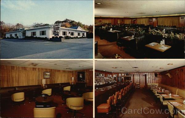 Inside and Outside Views of Carbone's Restaurant Hopkinton Massachusetts