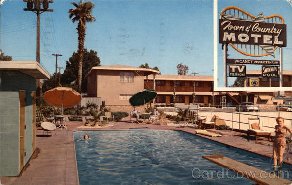 Town and Country Motel Bakersfield California