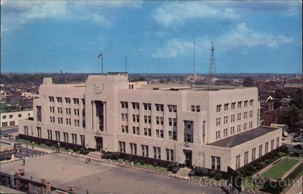 Post Office and Federal Building Norfolk Virginia Clark A. Brandenburg