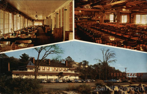 Views of Ferry Tavern Hotel Old Lyme Connecticut