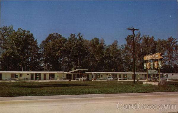 View of Pilgrim Motel Rocky Mount North Carolina