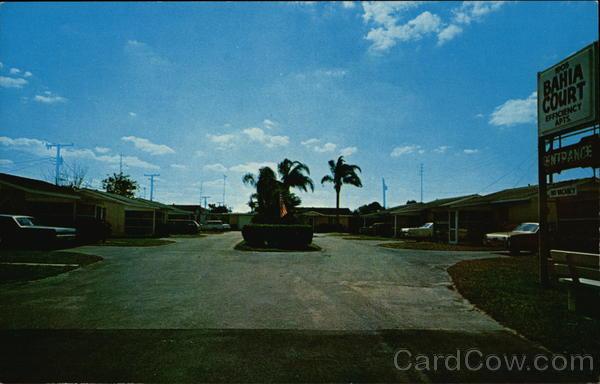 View of Bahia Court Bradenton Florida