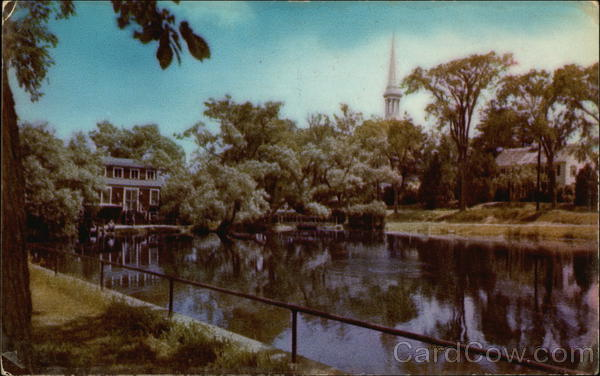 The Mill and Pond Sandwich Massachusetts