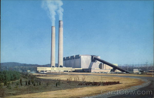 John Sevier Steam Plant on the Holston River Rodgersville Tennessee