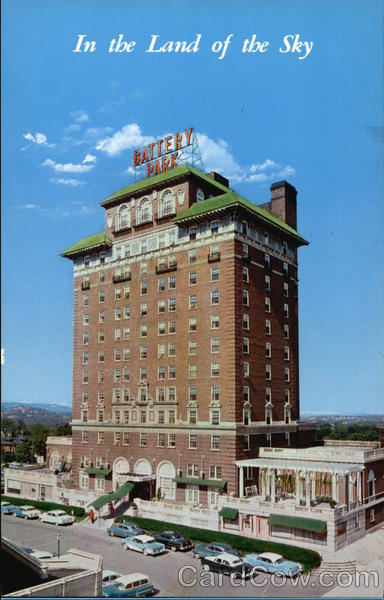 Battery Park Hotel, In the Land of the Sky Asheville North Carolina