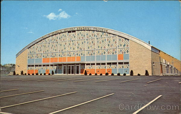 John F. Kennedy Memorial Coliseum Manchester New Hampshire