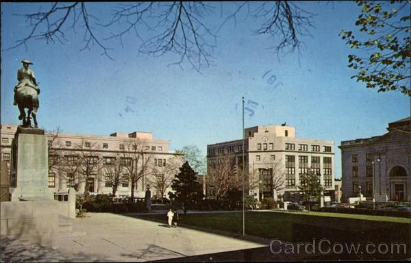 View of Rodney Square Wilmington Delaware