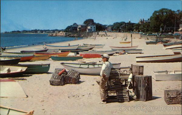 Fishing Boats at Fishermen's Beach Swamscott Massachusetts