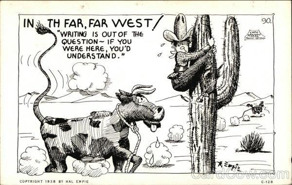 In the Far, Far West! Comic, Funny