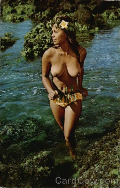 Hawaiian Water Sprite Risque & Nude
