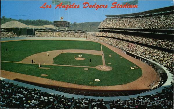 Opening Day, Dodgers Stadium Los Angeles California