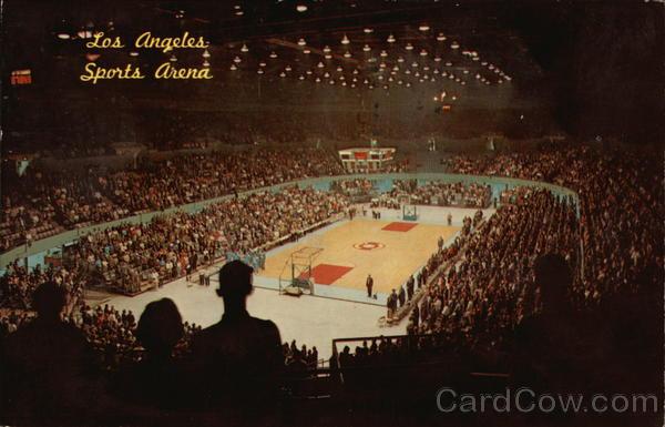 Memorial Sports Arena Los Angeles California
