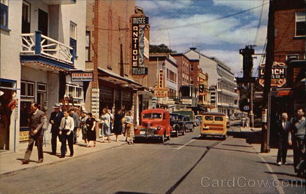 Rue Royale Ste Anne de Beaupre Quebec City Canada S. J. Hayward