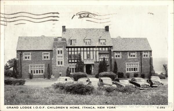 Grand Lodge I.O.O.F. Children's Home Ithaca New York