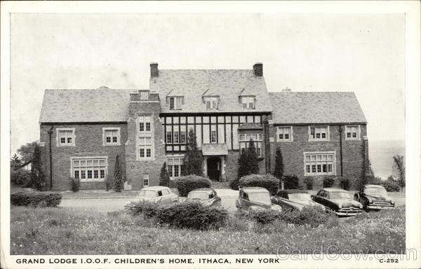 Grand Lodge J.O.O.F. Children's Home Ithaca New York
