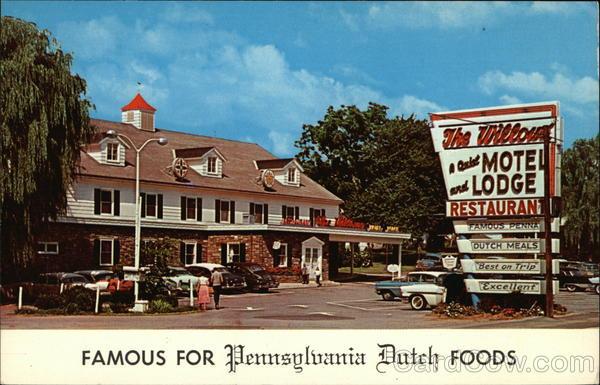 The Willows Restaurant, Motel & Lodge Lancaster Pennsylvania