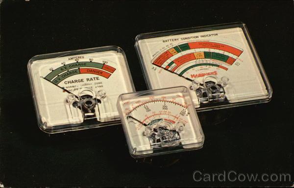 Plastic Case Panel Meters Advertising