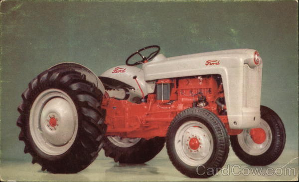 New Ford Tractor Advertising Farming