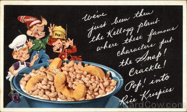 Kellogg's Rice Krispies Advertising