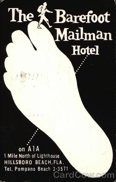 The Barefoot Mailman Hotel Hillsboro Beach Florida