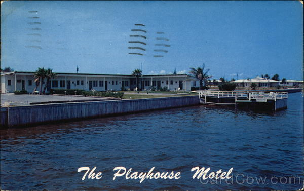 The Playhouse Motel Clearwater Florida
