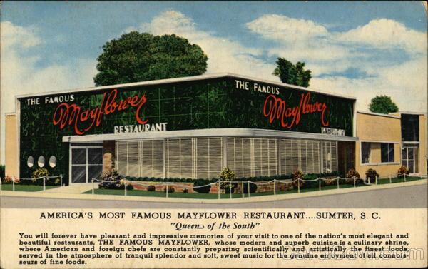 The Famous Mayflower Restaurant Sumter South Carolina