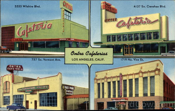 Ontra Cafeterias Los Angeles California