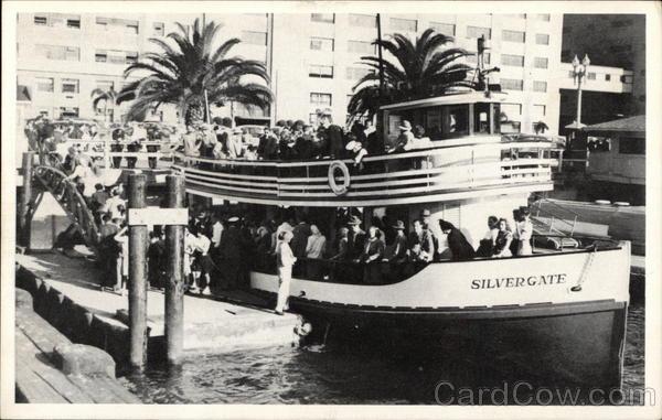 Silvergate Excursion Boat San Diego California