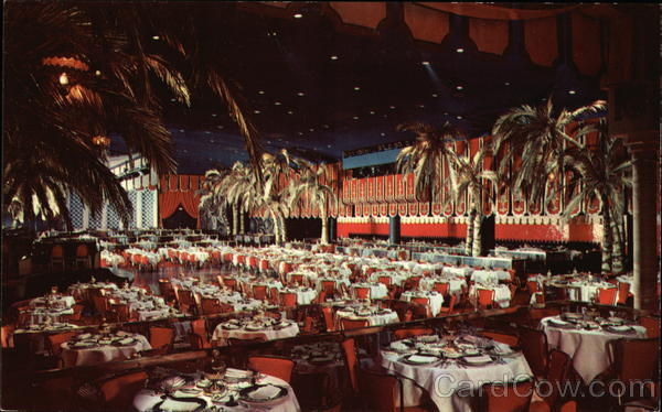 The World Famous Cocoanut Grove - The Ambassador Hotel Los Angeles California