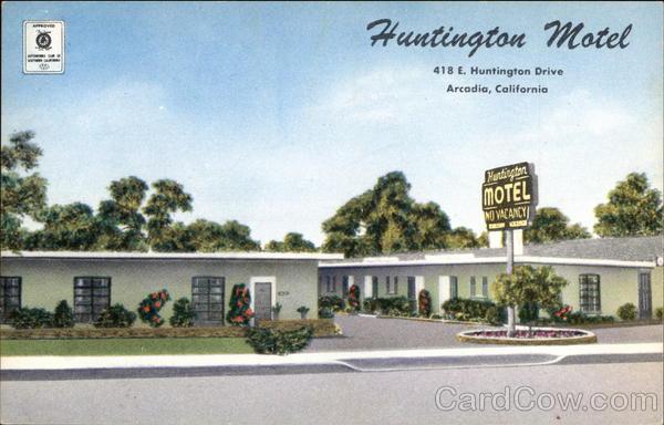 Huntington Motel Arcadia California