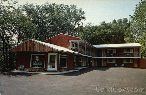 Mid-Town Motel Bennington Vermont Frank L. Forward