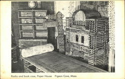 Radio and Bookcase, Paper House