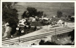 Black and White Cabins and Filling Station