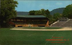 "Greetings from Cooperstown, N. Y. ""Home of Baseball"""