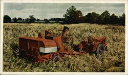 Allis-Chalmers All-Crop Harvester