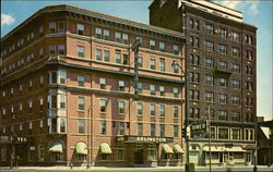 Arlington Hotel, at the Corner of Chenango and Lewis Sts.