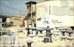 Glass Shop and China Shop, Williamsburg Pottery