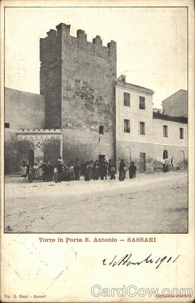 Torre in Porta San Antonio Sassari Italy