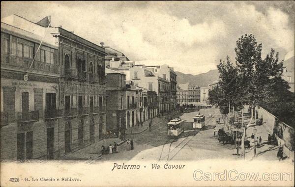 Via Cavour Palermo Italy