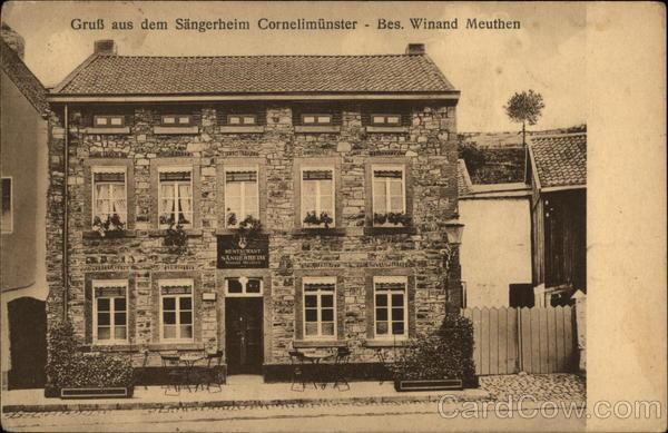 Gruss aus dem Sangerheim Cornelimunster - Bes. Winard Methuen Kornelimunster Germany
