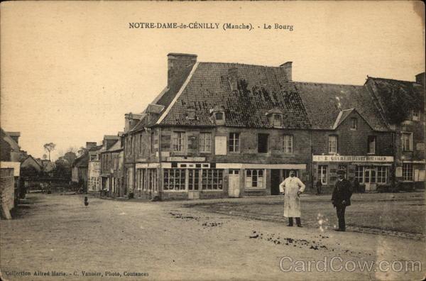 Le Bourg Notre-Dame-de-Cenilly France