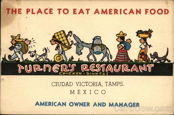 Turner's Restaurant Cuidad Victoria Mexico