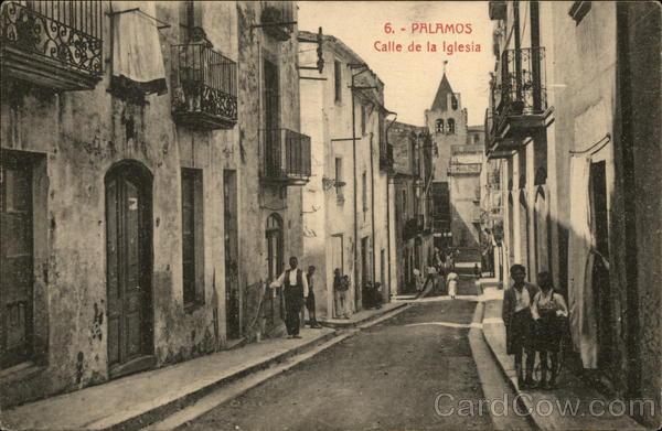 Palamos - Calle de la Iglesia Spain Spain, Portugal