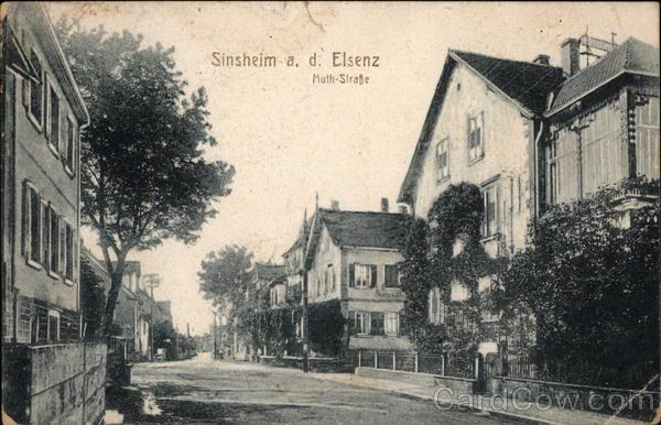 Muthstrasse Sinsheim Germany