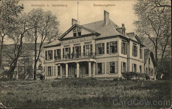 Rohrbach b. Heidelberg Genesungshelm Rorhbach Germany