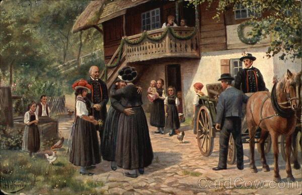 Abschied vom Elternhaus Germany